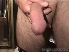 Mature Amateur Al Jacking Off