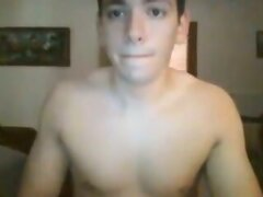 Greek Gay Boy With Nice Cock,Big Fat Ass On Cam