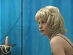 young crossdresser in casting
