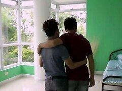 Asian Boys Gilbert and Argie Barebacking