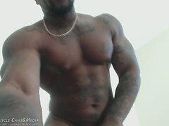 Huge Black and Naked