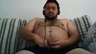 Bear orient Naked Hairy