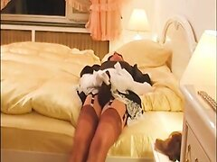 Naughty Maid Played With Stockings
