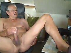 grandpa stroke on cam  scene 35