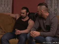 IconMale Brandon Wilde's FIRST GANGBANG!
