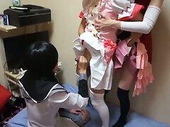 Nippon San Nin Cosplay Crossdressing