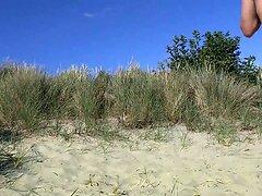 aftrekken en klaarkomen in de duinen