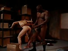 Warehouse secret : fuck and fist scene