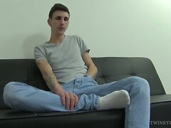 Twink Jessie Jenkins Foot Fetish Jerk Off  scene 2