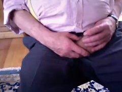 grandpa show body on cam