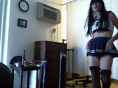 Sexy Tasha Crossdresser Sailor Moon Cosplay Dancing