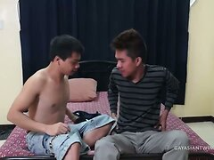 Cute Asian Twinks Vahn and Benjamin Fuck  scene 2