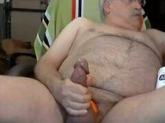 grandpa stroke on cam  scene 85