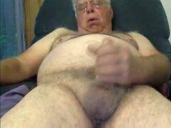 grandpa cum on cam  scene 107