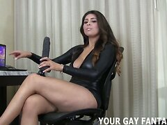 I am going to dominate your ass with my strapon  scene 2