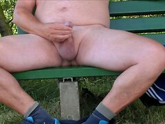 SandrotheBest cumshot outdoor public full naked