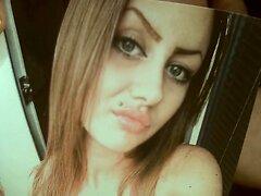 Tribute for DebeoKurac - Natalija gets a facial cumshot