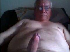 grandpa stroke on cam  scene 106