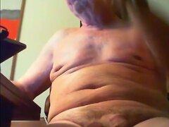 grandpa stroke on cam  scene 107
