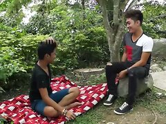 Asian Boys Idol and Nathan Barebacking  scene 2
