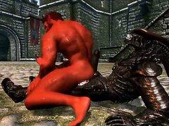 Schwule Alien-Sex
