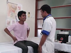 Asian Boys Barebacking Medical Exam  scene 2