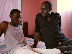 Black Africans Kam and Pala Barebacking  scene 2