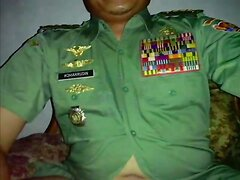 Hot moustache army officer daddy in Uniform part 4