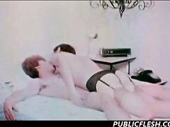 Vintage Gay Cross Dressing Dominating Hardcore  scene 2