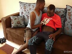 Black Africans Micheal and Kevin Bareback
