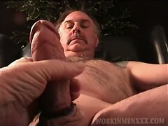 Mature Amateur Robert Jacking Off  scene 3