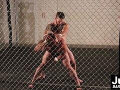 Brad Powers fucks Jaxton Wheelers ass with his raw cock