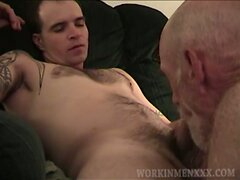 Amateurs Harvey and Andy Suck Cock