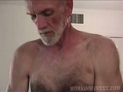 Mature Amateur Harvey Beating Off  scene 2