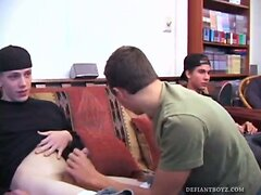 Four Boy Amateur Gay Sex Orgy