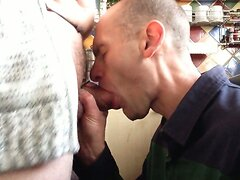 spunking in a mouth