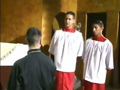 Hot Latin Threesome  scene 3