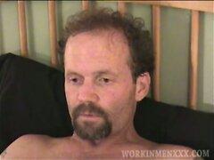 Mature Amateur Greg Jerking Off