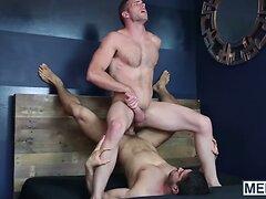 Diego Sans pounds a big load of cum out of Alex Mechum