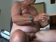 grandpa cum on cam  scene 139