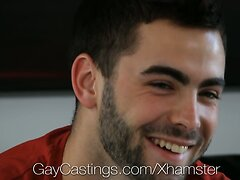 HD GayCastings - Josh Hairy asshole is pounded by the castin  scene 3