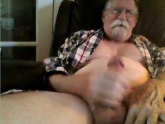 grandpa cum on cam  scene 145