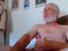 grandpa cum on cam  scene 152