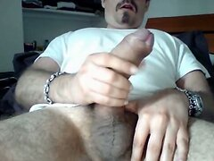 Really huge cock cumming