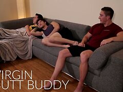 NextDoor Str8 Friend Double Teamed by Gay Roomies