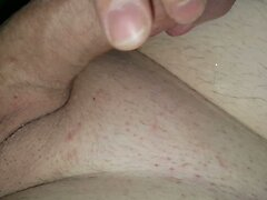 Hot Edging from Fat Cock Old Man!