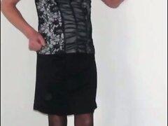 LINGERIESLETJE: Crossdresser. Compilation of pictures