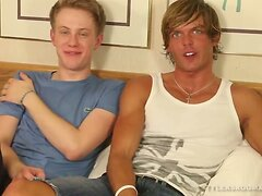Twinks Morgan and Aaron Fucking