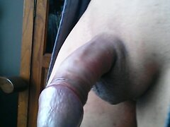 Playing with my cock  scene 12