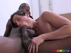 Zac Stevens Pays The Black Delivery Man With Sex  scene 3